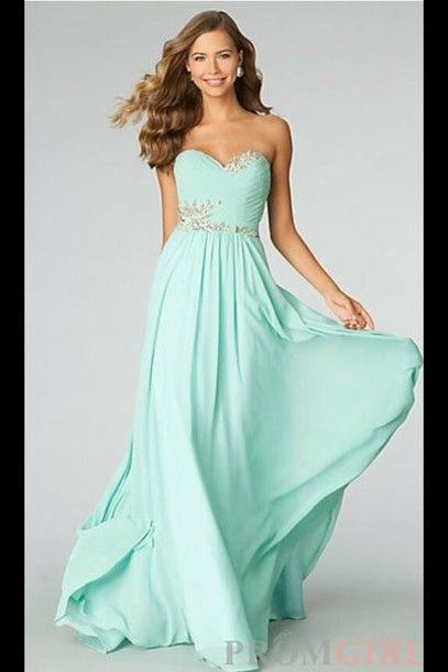 Teal Dresses for Prom