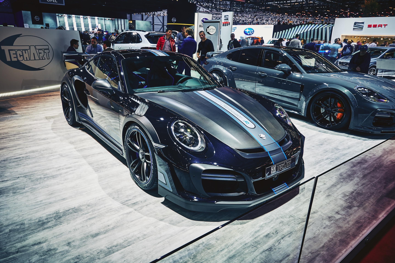2017 TechArt Porsche 911 Turbo S GTstreet R #2017MY #Porsche_911 #Porsche_991 #Porsche #Techart #tuning #Porsche_911_Turbo_S #Segment_S #German_brands #Geneva_2017