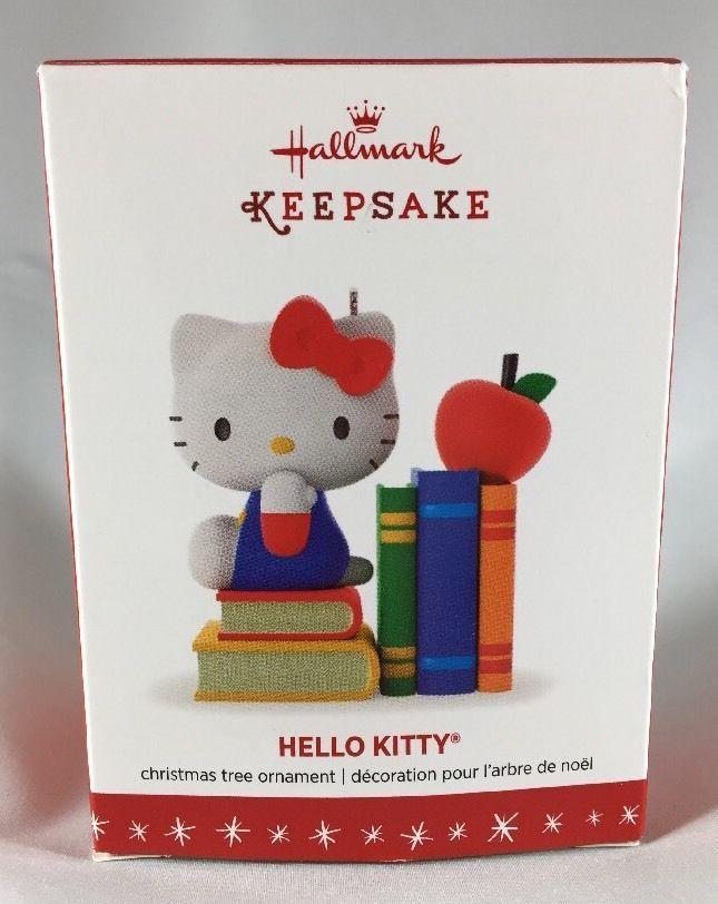 Details About Hello Kitty Christmas Ornament Hallmark