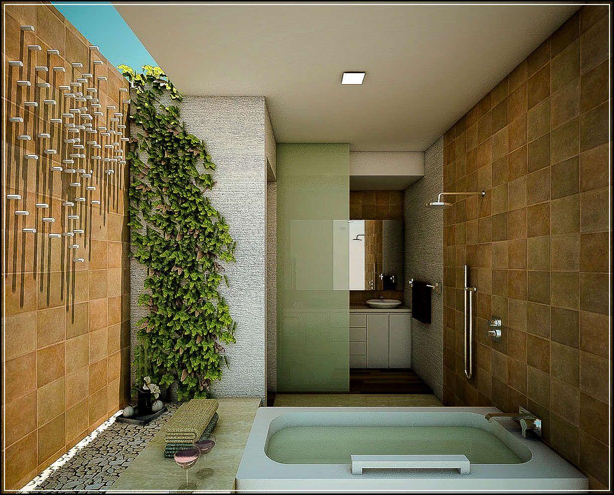 Desain Kamar Mandi  Minimalis  Nuansa Alam House