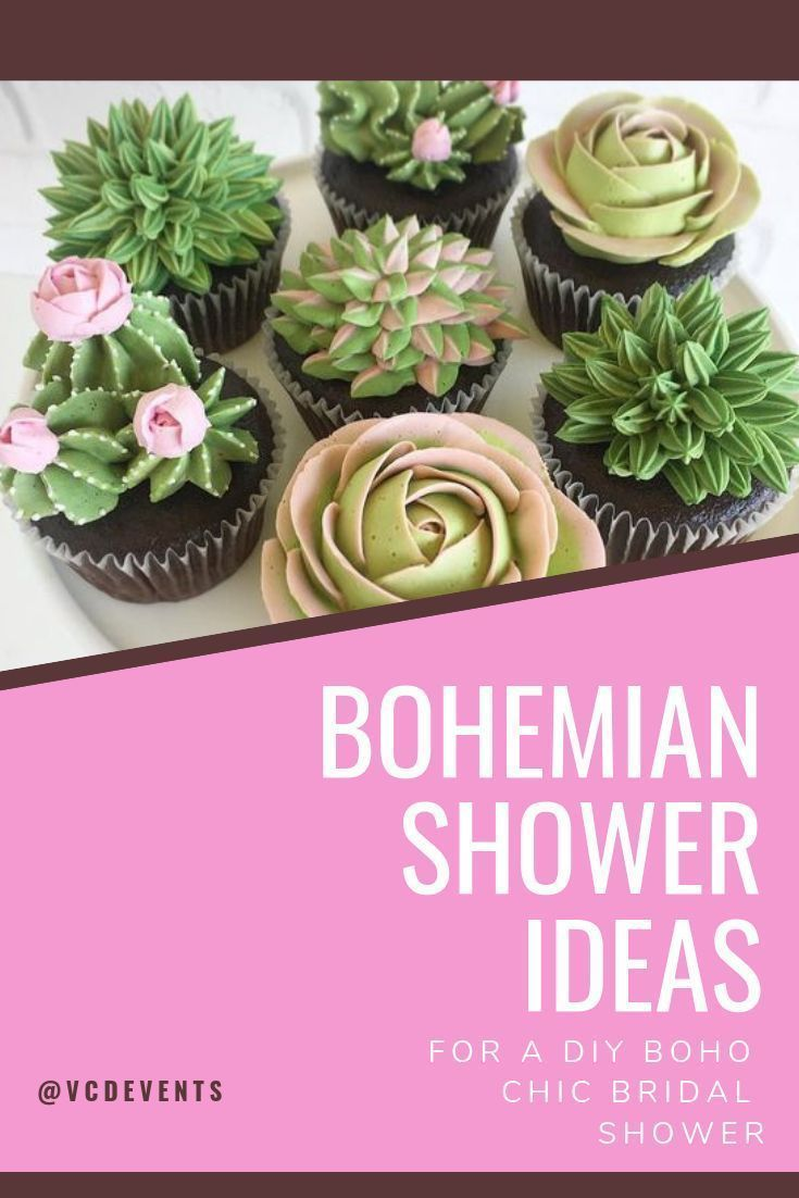Bohemian Bridal Shower Ideas for a DIY Boho Chic Wedding - VCDiy Decor And More