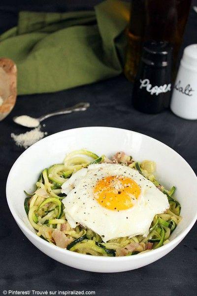 Courgette spaghetti comment agr menter des spaghetti de courgette elle table cuisine - Comment cuisiner courgette spaghetti ...