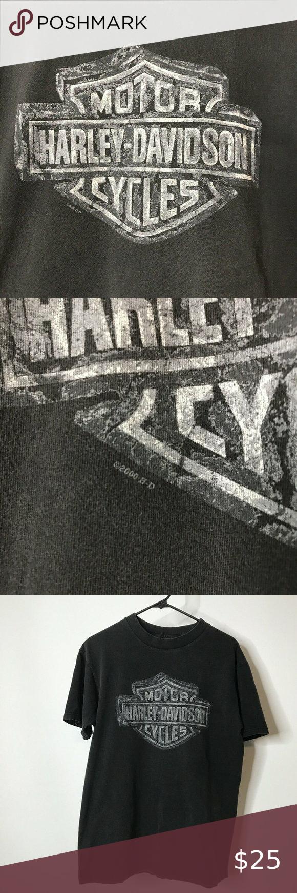 Vintage 2000 Harley Davidson Motorcycles T-Shirt L in 2020 ...