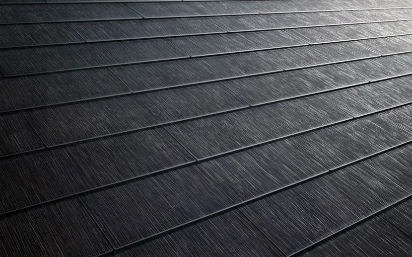 Tesla S Solar Roof Tiles Are Hydrographically Printed To Resemble French Slate Solar Roof Solar Roof Tiles Tesla Solar Roof