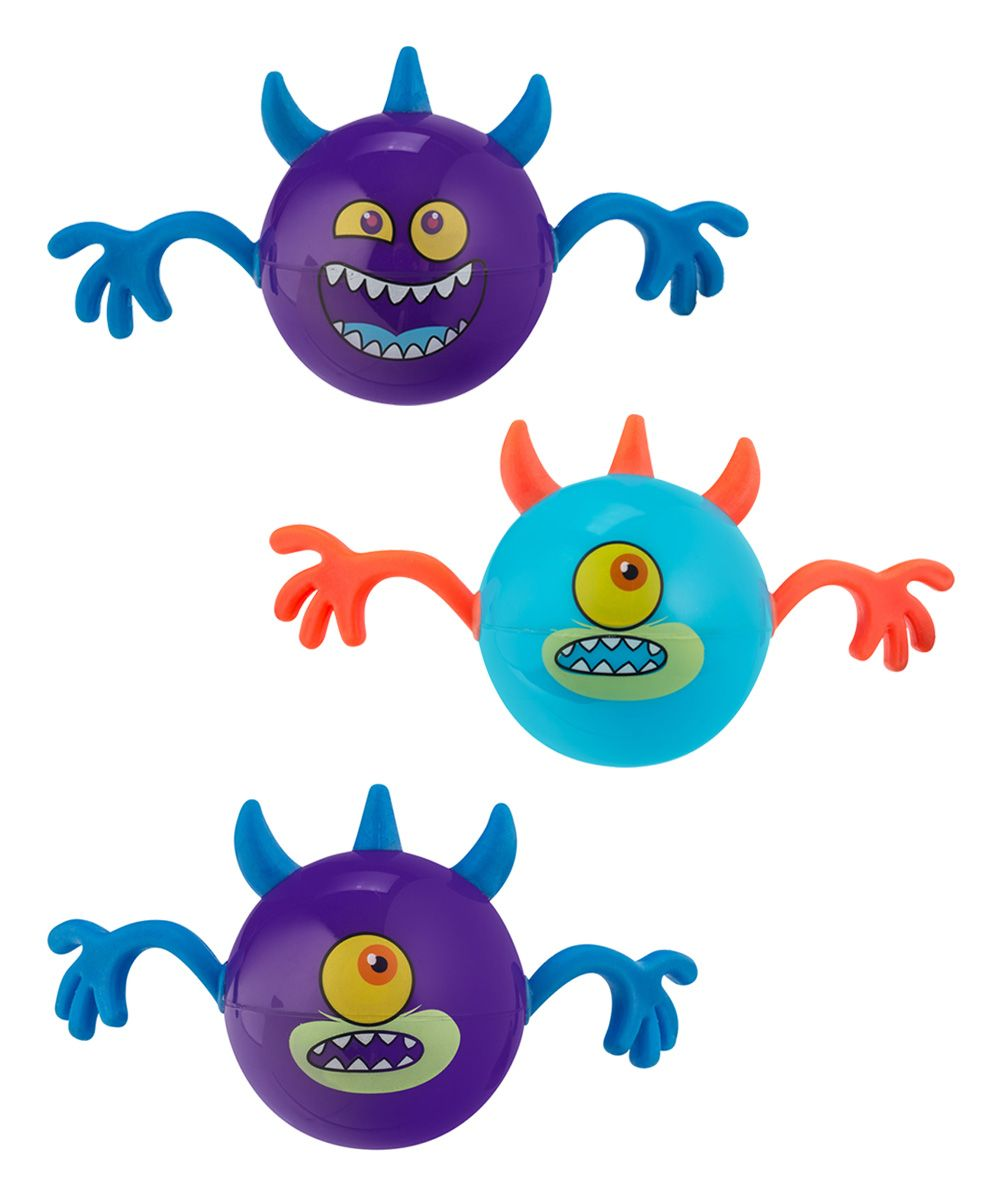 Bouncy Monster Ball - Set of Three | zulily