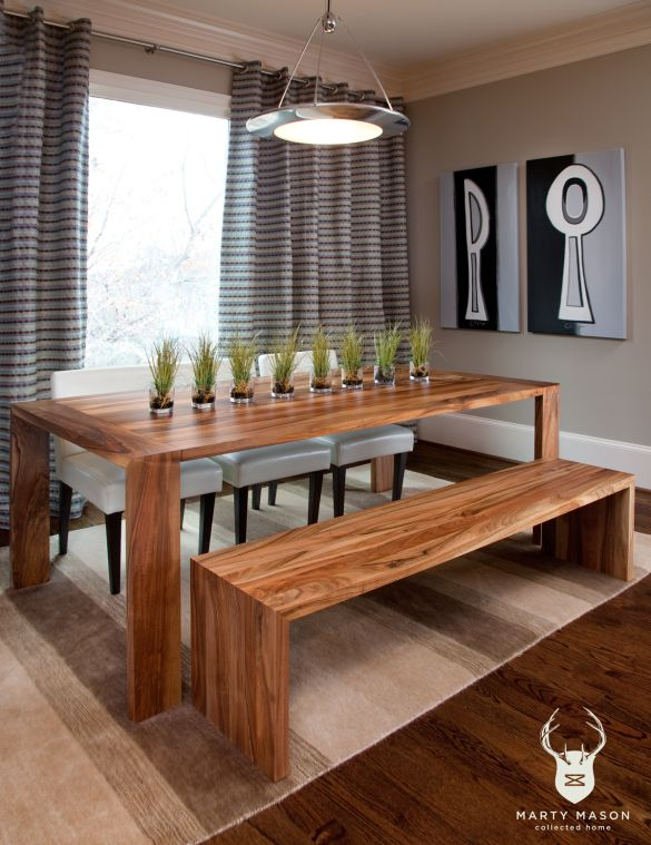 Beautiful DIY Dining Table And Bench Plans Wooden PDF Woodworkers Network