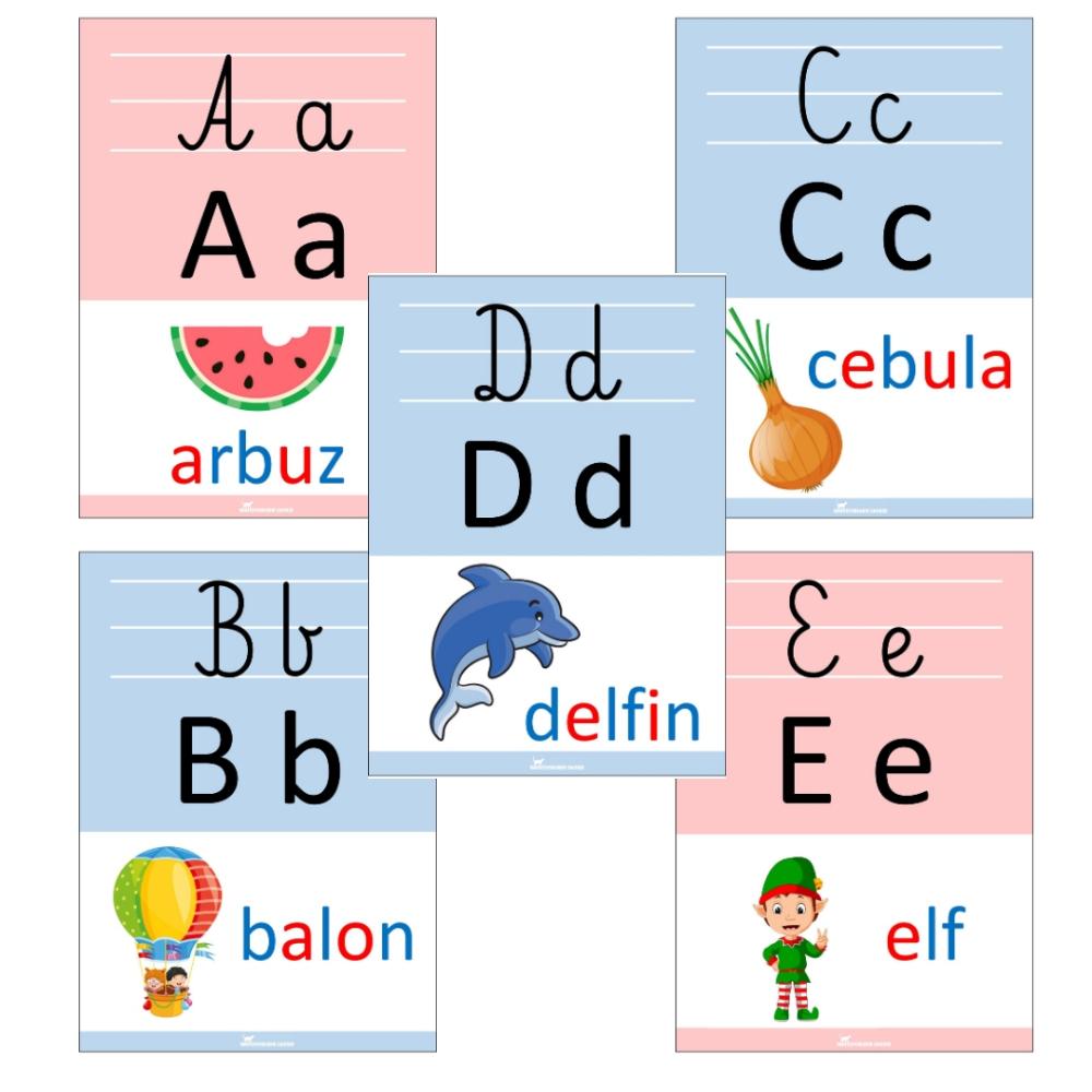 Alfabet Plansze Demonstracyjne Do Druku Pdf Words Word Search Puzzle Word Search