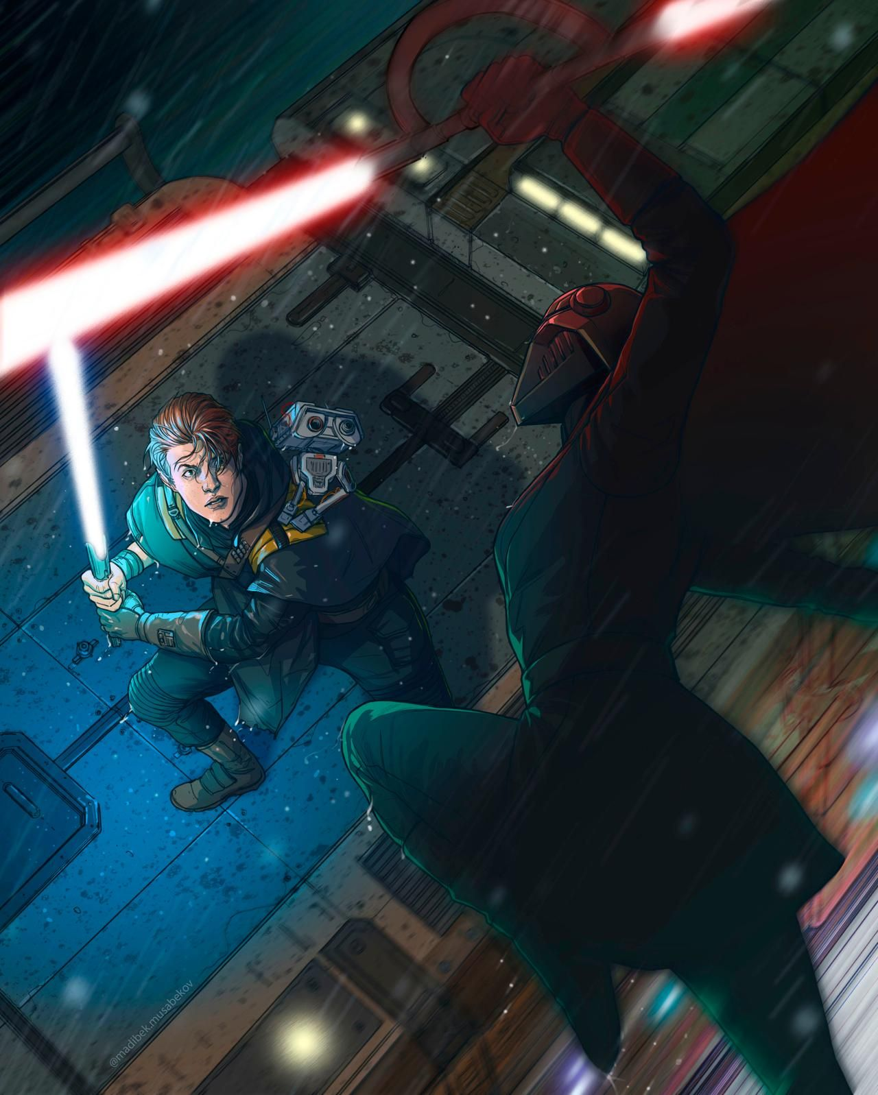 Star Wars Jedi Fallen Order Lightsaber [1920x1080] Star