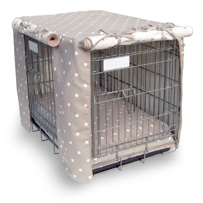 Luxury Dog Crate Cover For My Poodles