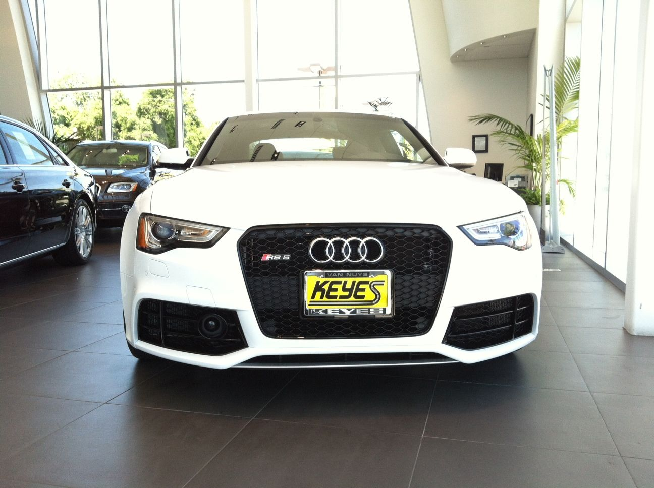 German Muscle Car.. Ibis White Audi RS5 With Titanium Package. Because It  Just