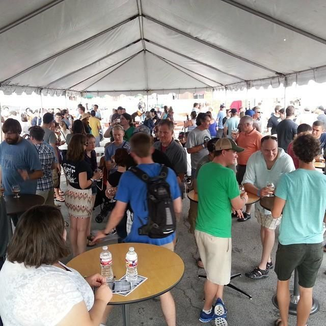 Kansas City Hop Talk ‏ -  Brewhoff Beer fest. 9/20/2014