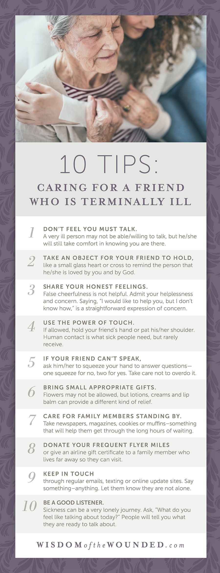 Being a Friend to the Terminally Ill Wisdom of the