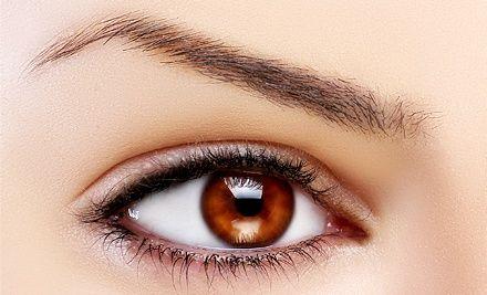groupon 175 for permanent eyeliner on the upper and lower eyelids at bella fontana spa. Black Bedroom Furniture Sets. Home Design Ideas