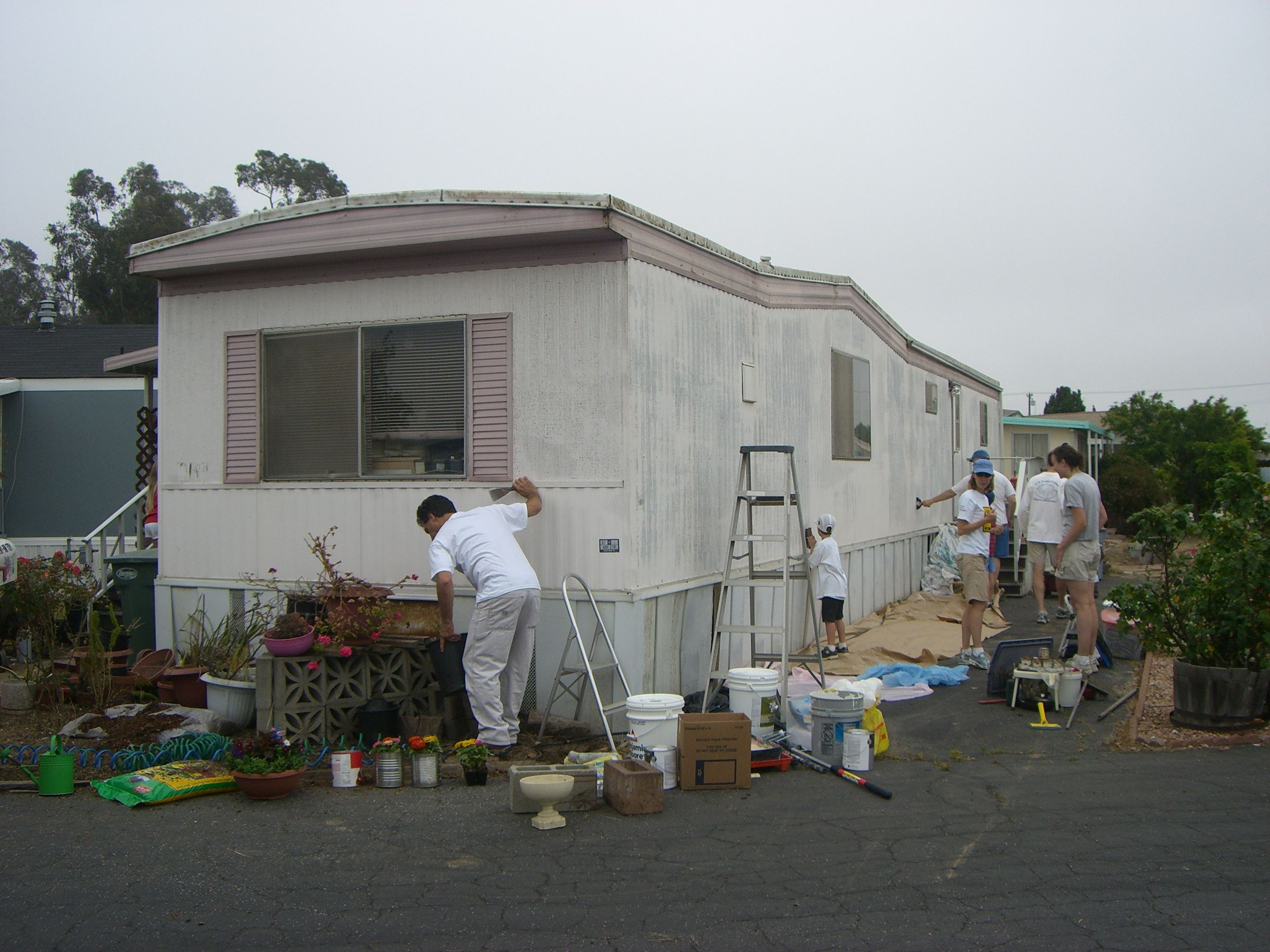 Before And After Pictures Mobile Home In Sunny Acres Oxnard