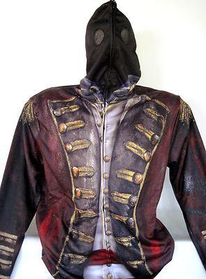 sleepy hollow tv show headless horseman hoodie costume jacket uniform new wtags - Sleepy Hollow Halloween Costumes