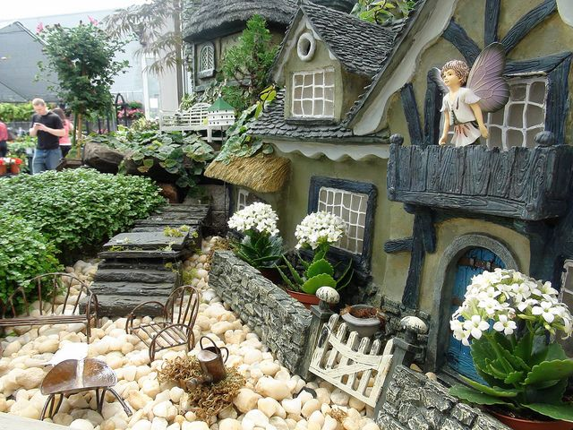 miniature village at gales garden center by spongepad via flickr - Gales Garden Center