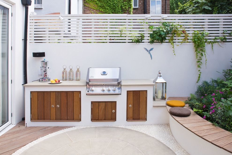 built in barbecues patio contemporary with barbecue bbq built in ... - Patio Bbq Designs