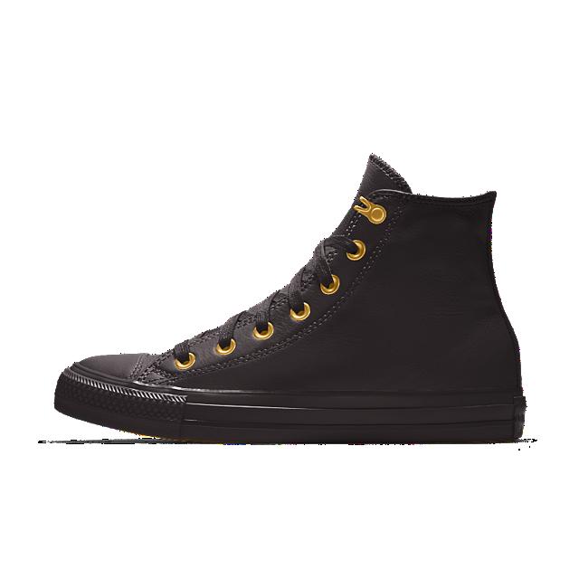 d3c64117d1b1e7 Converse Custom Chuck Taylor All Star Metallic Leather High Top Shoe ...