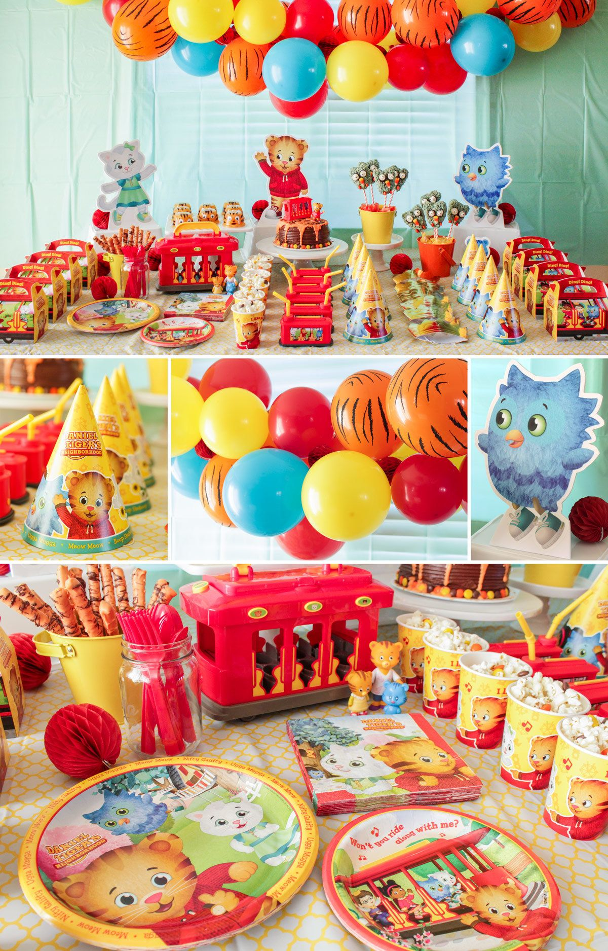 Daniel Tiger Decorations In 2019 Daniel Tiger Party