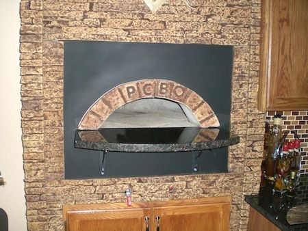 Pizza Oven Design Gas And Wood For Inside Italian Wood
