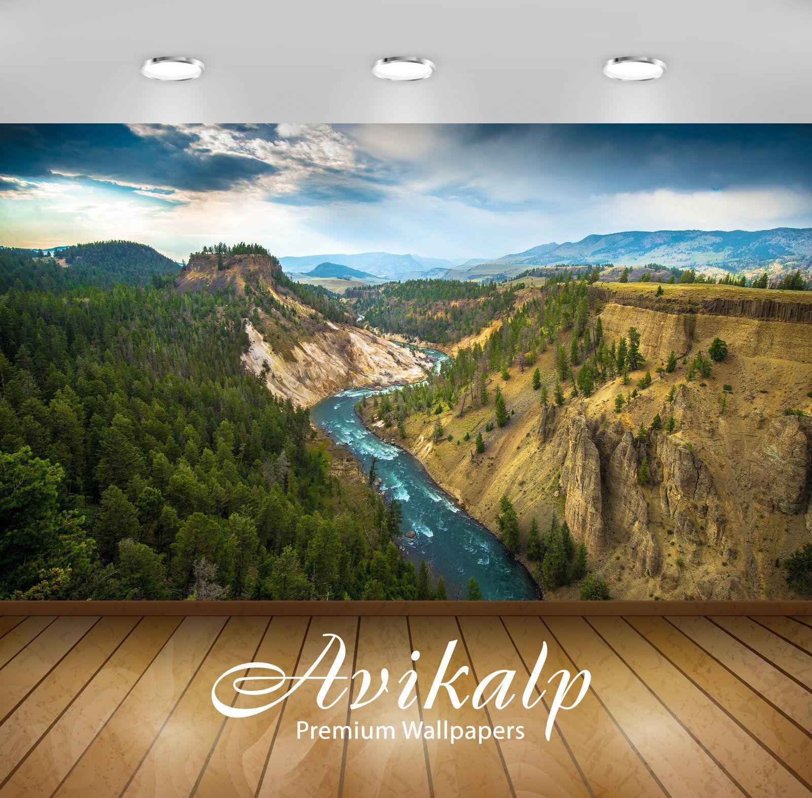 Avikalp Exclusive Awi6758 Yellowstone National Park Nature Full Hd