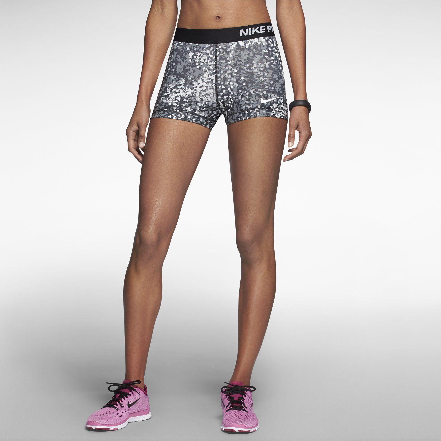 "Nike 3"" Pro Core Compression Printed Women's Shorts"