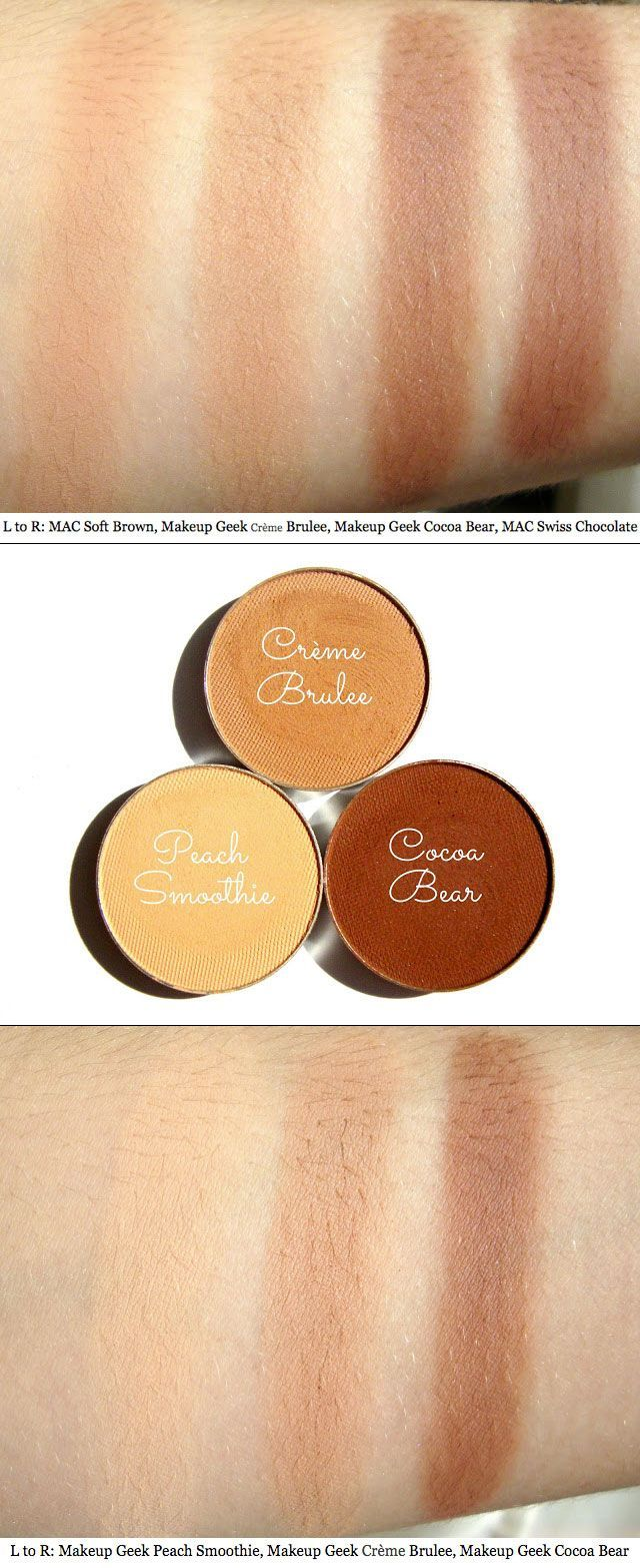 Makeup geek peach smoothie dupe