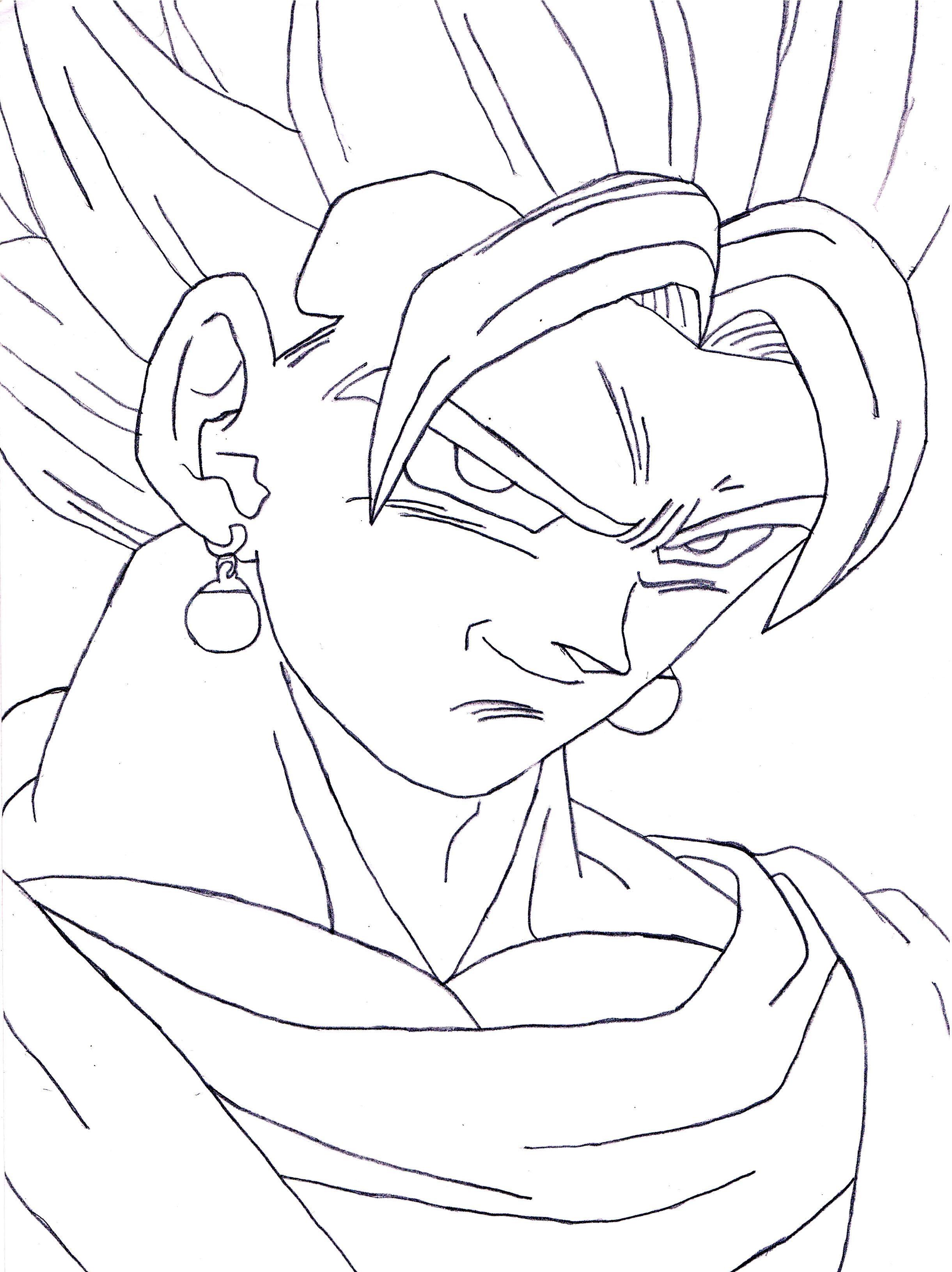Dragon Ball Pencil Drawings Dragon Ball Drawings