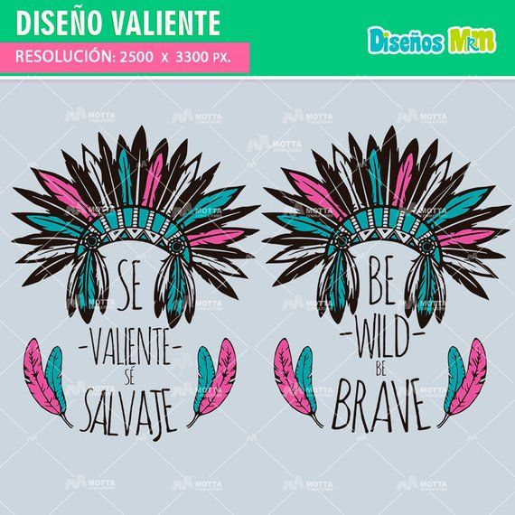fb97363c6c8a6 Design for T-shirt be WILD be brave-Vector to print T-shirt be brave ...