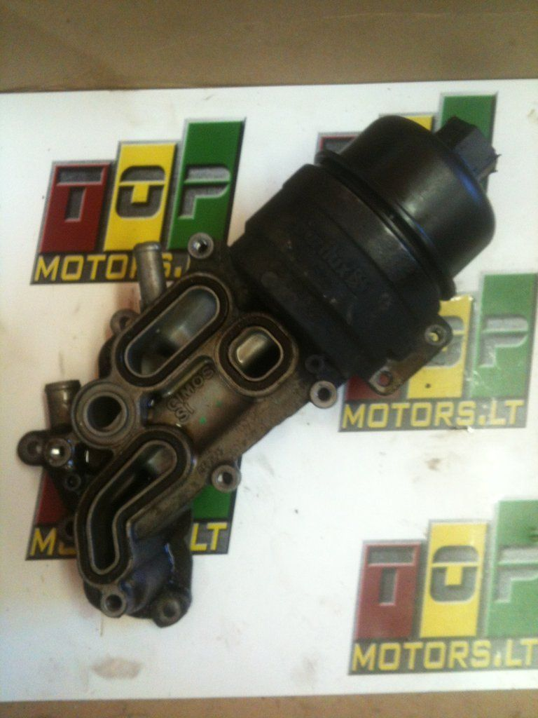 N14b16 N14b16ab Mini Cooper S 2007 2008 2009 2010 1 6 Petrol Turbo Engine Oil Filter Housing Purflux V 7 546 279 80 7546279 Ref Of0319 Mini Cooper S Petrol Oil Filter