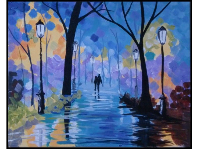 Paint and sip at arts n carafes in downtown renton for Sip and paint houston