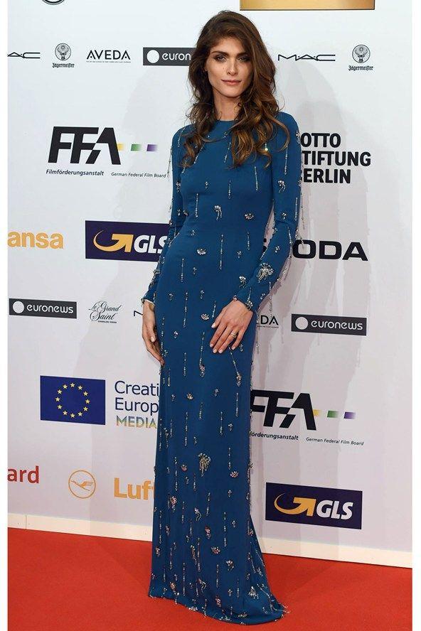 Elisa Sednaoui in Prada. European Film Awards, Berlin - December 12 2015