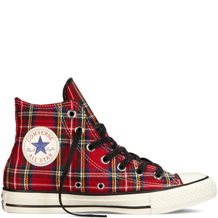 Chuck Taylor All Star Tartan Plaid red | Chuck taylors