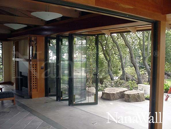 Inspiration movable walls seen in traditional japanese for Nanawall plan