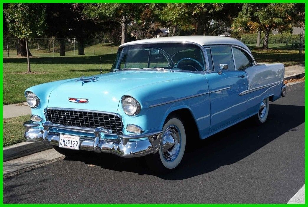 Awesome Awesome 1955 Chevrolet Bel Air150210 2 Door Hardtop
