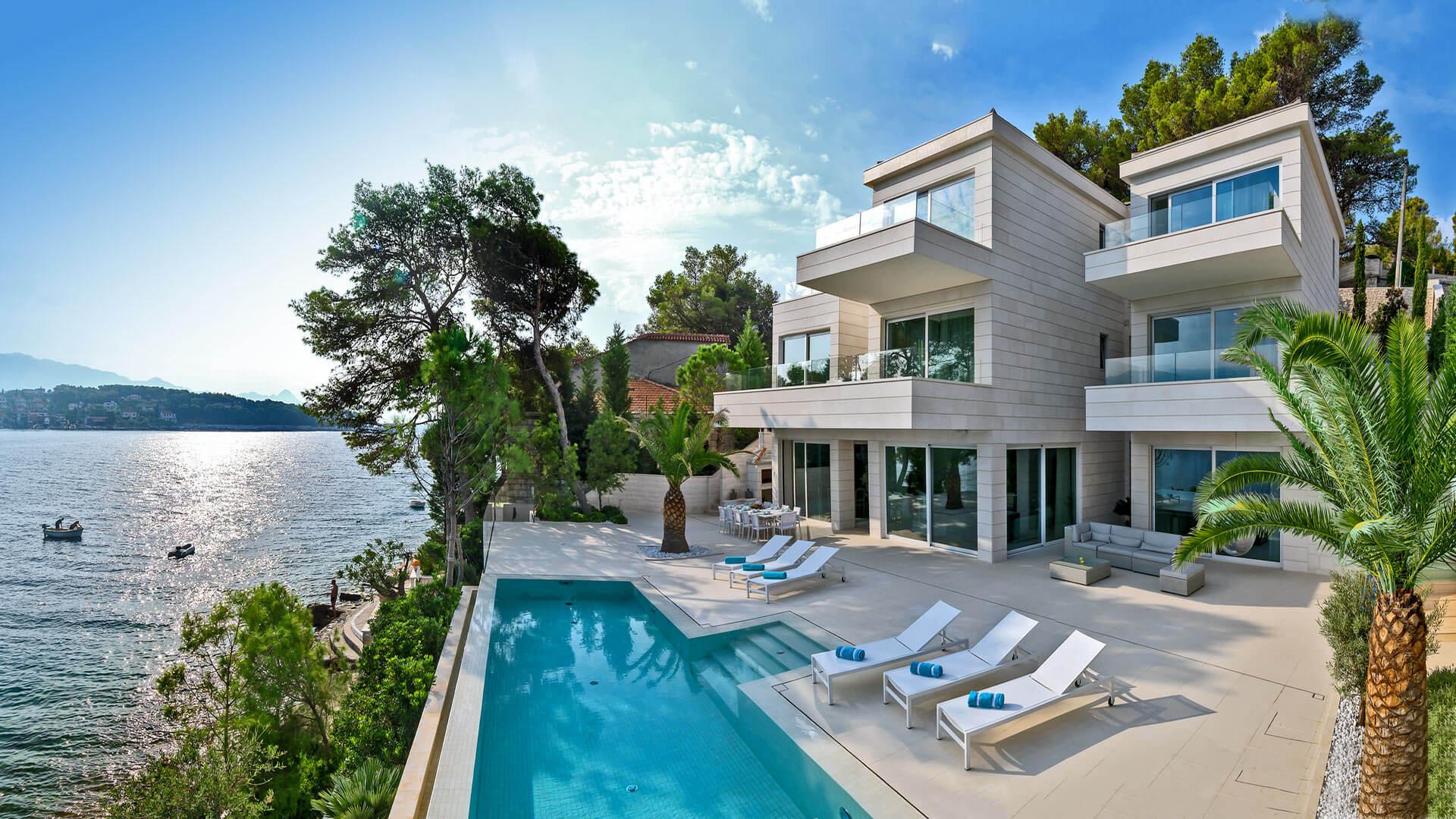 Villa Brasila Croatia villanovo villa luxury