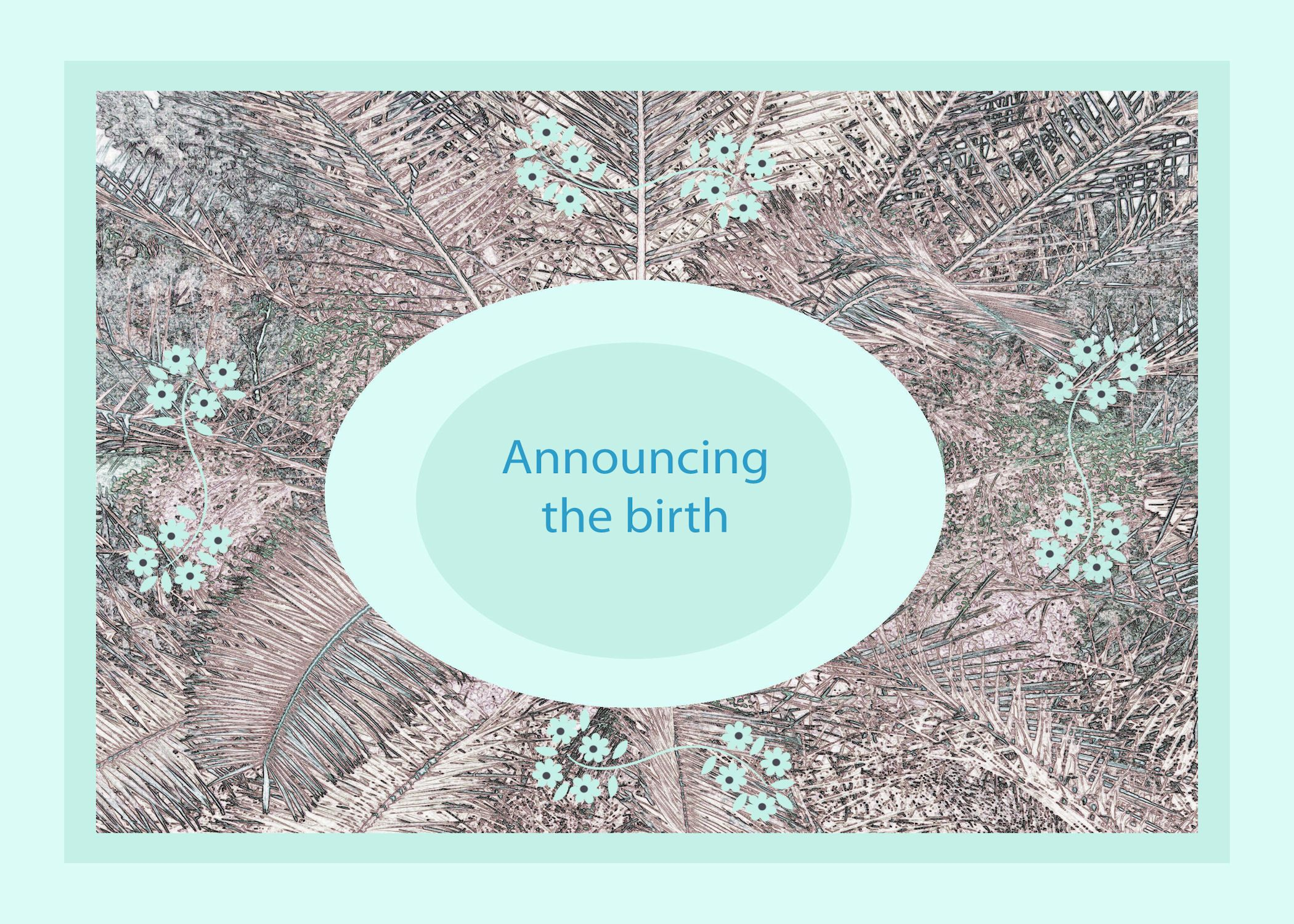 Birth Announcement For A New Baby Boy Available In My Zazzle And