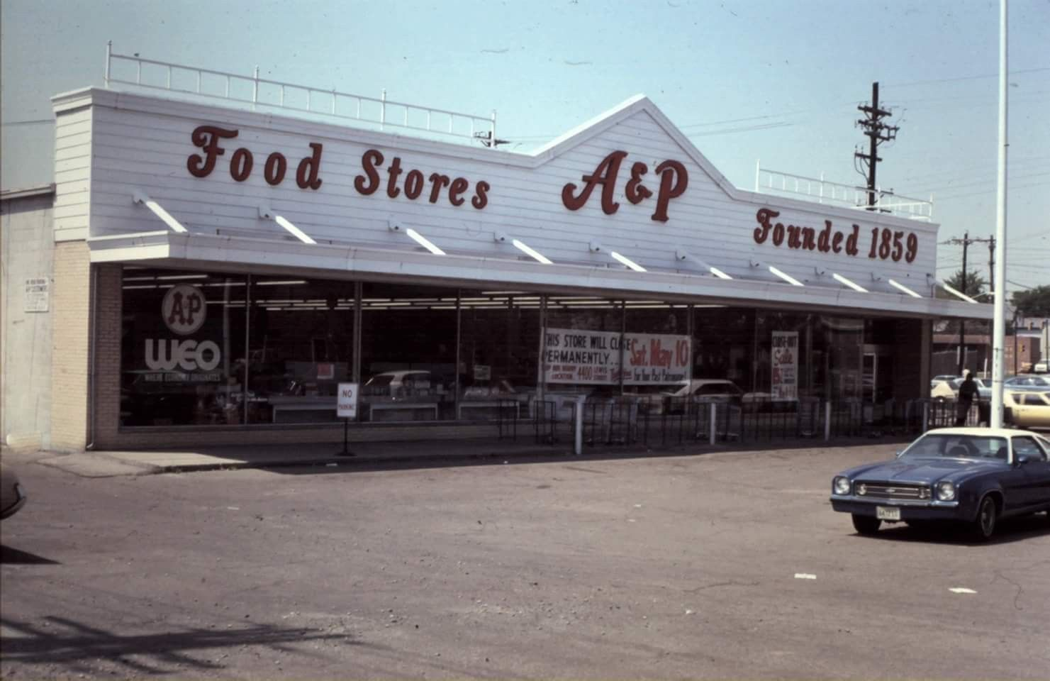 1300 First Ave A&P grocery Middletown ohio, The good old