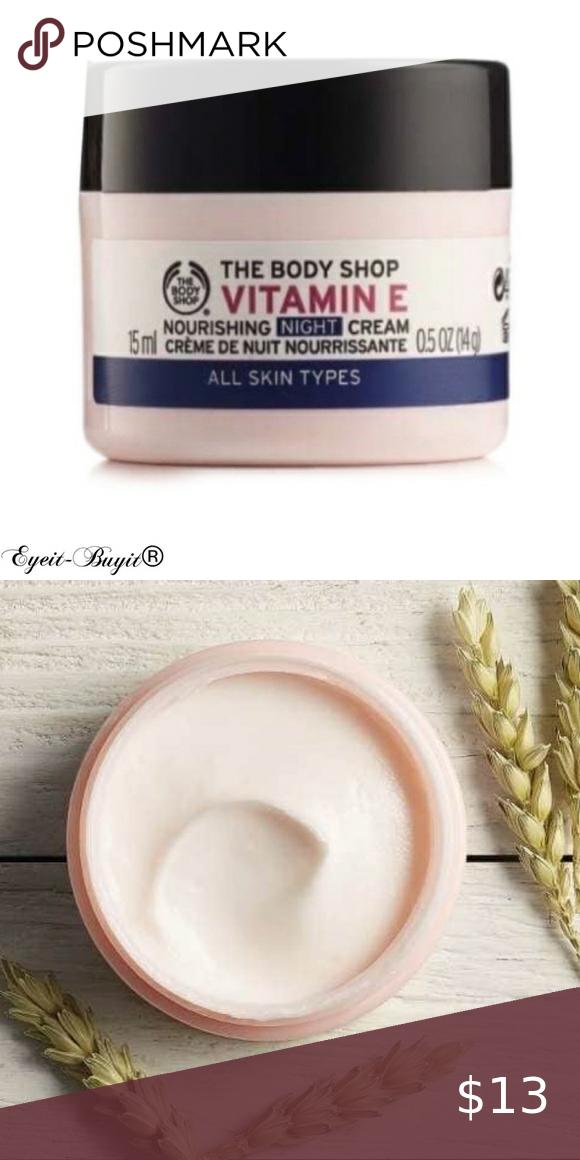 The Body Shop Vitamin E Nourishing Night Cream The Body Shop Body Shop Vitamin E Night Creams