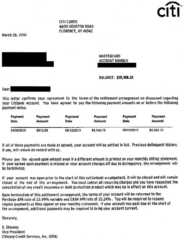 Printable Sample Settlement Letter Form Laywers Template Forms - loan contract example
