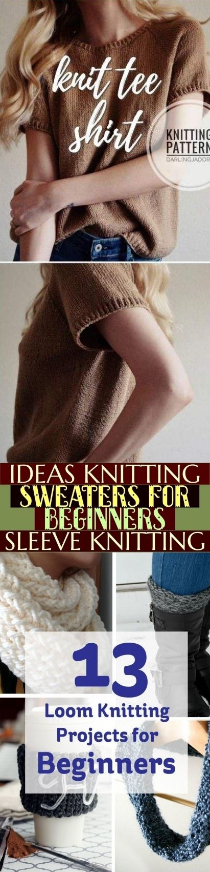 Photo of Ideas Knitting Sweaters For Beginners Sleeve Knitting ; ideen strickpullis für …