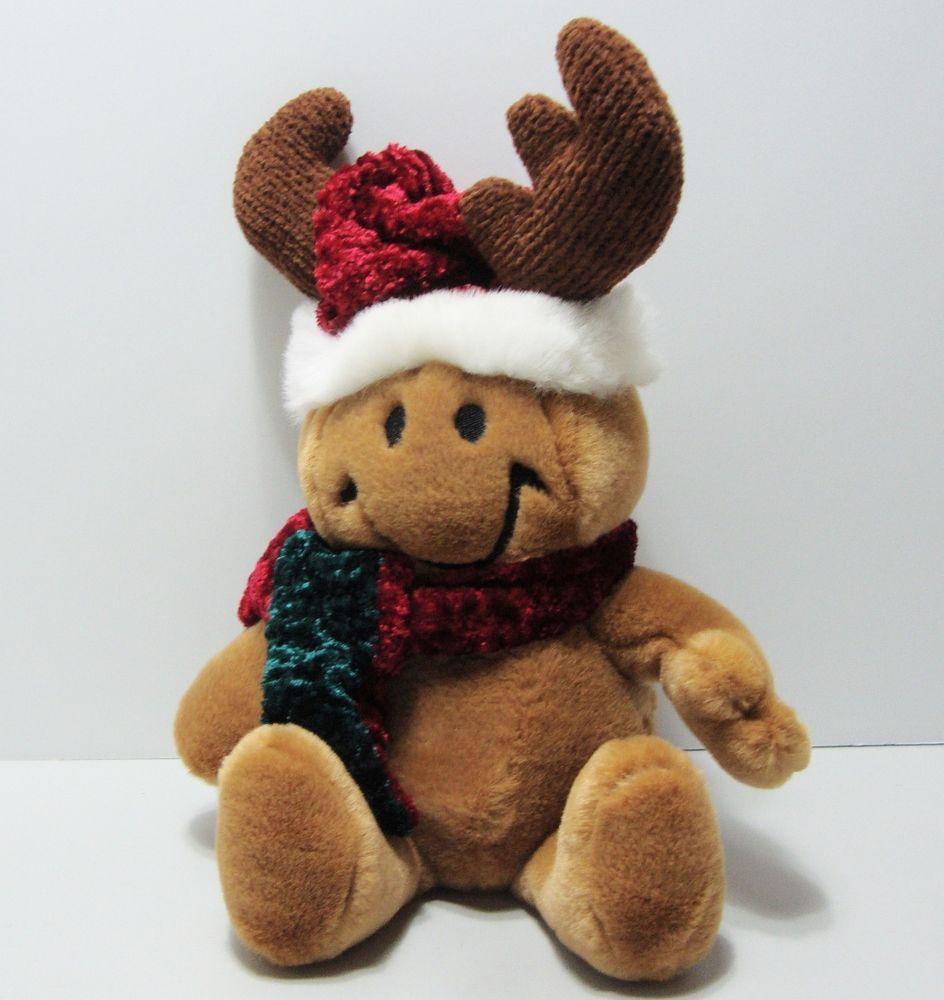dandee smiley giggles wiggles grandma got run over by a reindeer plush see video dandee
