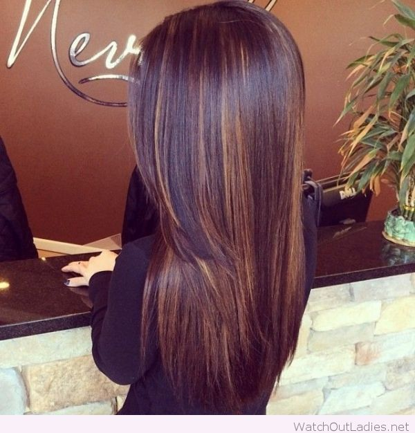 Subtle Highlights With Dark Chocolate Hair Color Hair Pinterest