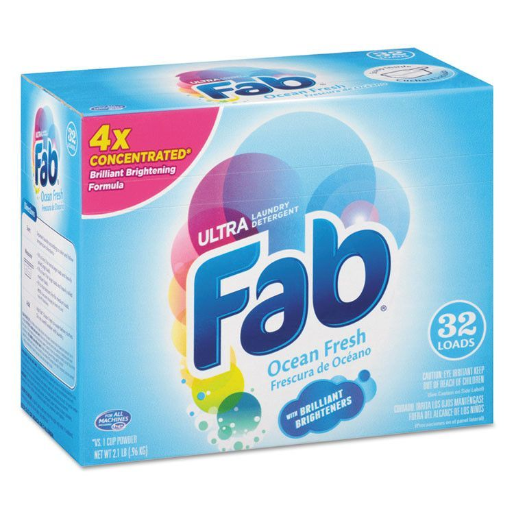Vintage Fab Laundry Detergent Box Free Record Album Offer