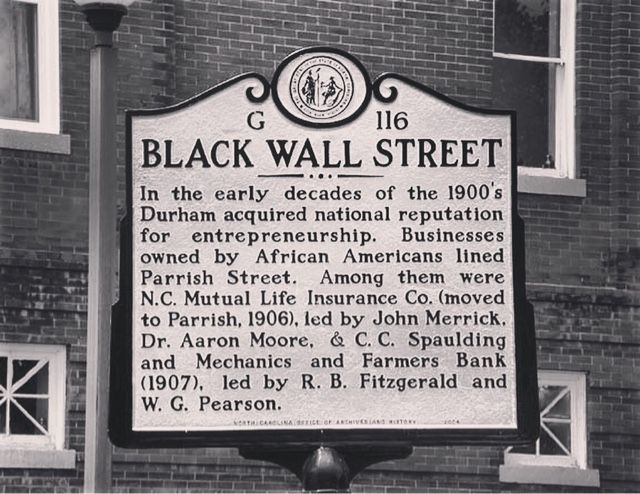 1921 Black Wall Street Greenwood Oklahoma Ninety Four Years