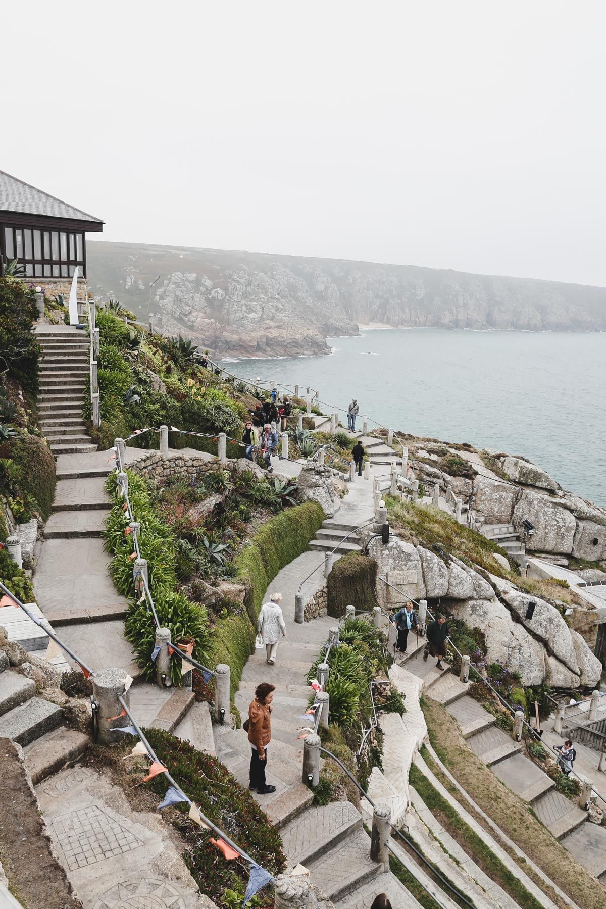 Minack Theatre The Theater by the Sea in Cornwall The