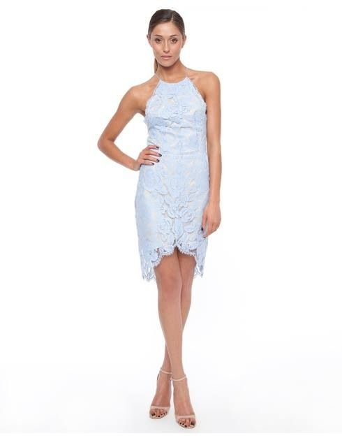 Lover the label Rosebud halter dress | size 10 | $100 to hire x
