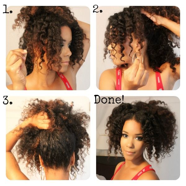 Holiday Hair DIY Natural Hairstyles Were Grateful For - Diy natural hairstyle