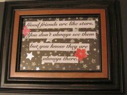 DIY: Framed Quotes or Sayings