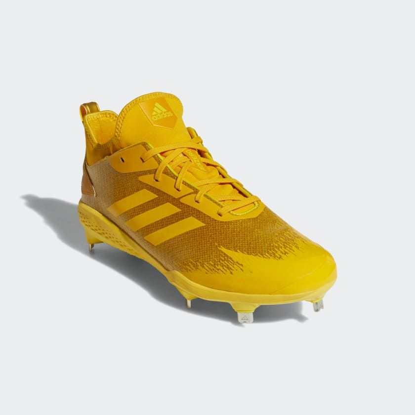 bff012d683 Adizero Afterburner V Dipped Cleats | Baseball Gear | Cleats, Yellow ...